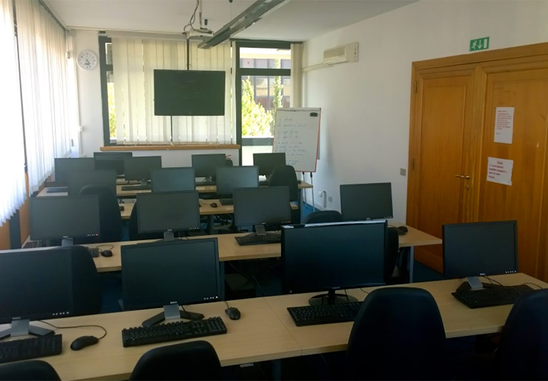 Noleggio aula multimediale